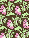 Daisy Chain AB40-Brown Fabric by Amy Butler