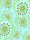 Daisy Chain AB42-Mist Fabric by Amy Butler