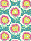 Soul Blossoms AB62-Spearmint Fabric by Amy Butler