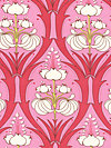 Soul Blossoms AB66-Cerise Pink Fabric by Amy Butler