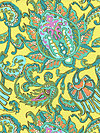 Soul Blossoms AB67-Lemon Fabric by Amy Butler