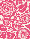 Heirloom JD48-Fuchsia Fabric by Joel Dewberry