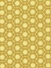 Heirloom JD52-Gold Fabric by Joel Dewberry