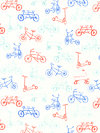 Children at Play Flannel FD5151-AQUA Flannel Fabric by Sarah Jane