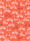 Children at Play Flannel FD5151-CORA Flannel Fabric by Sarah Jane