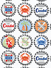 Going Coastal DC5160-MULT Fabric by Emily Herrick