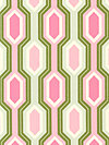 Garden District Canvas CHHB002-Pink Canvas Fabric by Heather Bailey