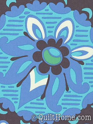Soul Blossoms Home Decor Hdabs26 Blue Velvet Home Dec Fabric By Amy Butler Quilthome