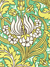 Soul Blossoms Home Decor HDABS30-Emerald Home Dec Fabric by Amy Butler