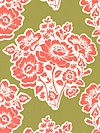 Secret Garden SH5020-MOSS Fabric by Sandi Henderson