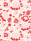 Secret Garden SH5232-CORA Fabric by Sandi Henderson