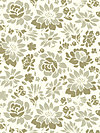Secret Garden SH5232-KHAK Fabric by Sandi Henderson