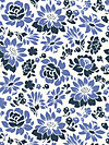 Secret Garden SH5232-MIDN Fabric by Sandi Henderson