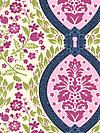 Secret Garden SH5235-MIDN Fabric by Sandi Henderson