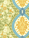 Secret Garden SH5235-SUNS Fabric by Sandi Henderson