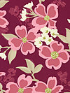 Modern Meadow JD31-Berry Fabric by Joel Dewberry