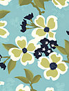 Modern Meadow JD31-Pond Fabric by Joel Dewberry