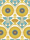 Modern Meadow JD33-Sunglow Fabric by Joel Dewberry