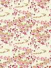 Modern Meadow JD34-Berry Fabric by Joel Dewberry