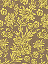 Modern Meadow JD35-Sunglow Fabric by Joel Dewberry