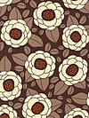 Ginseng HDJD02-Chocolate Home Dec Fabric by Joel Dewberry