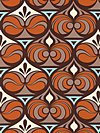 Ginseng HDJD08-Rust Home Dec Fabric by Joel Dewberry