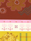 LouLouThi Needleworks XXAH001-Tumeric Fabric by Anna Maria Horner