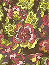 Fiona's Fancy C2670-Brown Fabric by Lila Tueller