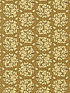 Fiona's Fancy C2674-Gold Fabric by Lila Tueller