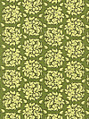 Fiona's Fancy C2674-Green Fabric by Lila Tueller
