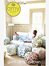 Amy Butler Gum Drop Pillows