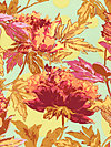Soul Blossoms AB59-Saffron Fabric by Amy Butler