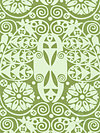 Soul Blossoms AB60-Basil Fabric by Amy Butler