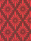 Olive Rose HDVW13-Red Home Dec Fabric by Valori Wells