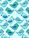 Urban Flannel FVW10-Aqua Flannel Fabric by Valori Wells
