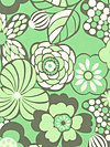 Daisy Chain AB44-Forest Fabric by Amy Butler
