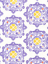 Ty Pennington Impressions Home Dec SATY004-Purple Home Dec Fabric
