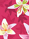 Lush DC5382-RASP Fabric by Patty Young