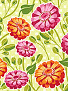 Lush DC5383-CRMS Fabric by Patty Young