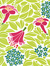 Lush DC5384-WHIT Fabric by Patty Young