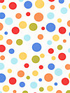 Michael Miller Dots and Stripes CX3295-CLEM Fabric by Kathy Miller