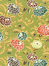 Gypsy Caravan PWAB082-Pesto Fabric by Amy Butler