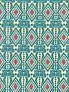 Folksy Flannels FAH01-Sea Flannel Fabric by Anna Maria Horner