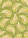 Freshcut™ 2012 PWHB024-Green Fabric by Heather Bailey
