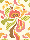 Freshcut™ 2012 PWHB025-Brown Fabric by Heather Bailey
