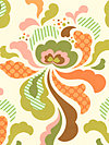 Freshcut™ 2012 PWHB025-Orange Fabric by Heather Bailey