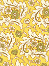 Freshcut™ 2012 PWHB026-Gold Fabric by Heather Bailey