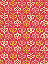 Freshcut™ 2012 PWHB032-Red Fabric by Heather Bailey