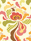 Freshcut™ Flannel FAHB001-Brown Flannel Fabric by Heather Bailey