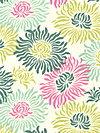 Freshcut™ Flannel FAHB004-Turquoise Flannel Fabric by Heather Bailey